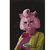 Dedicated Cat Photographic Print