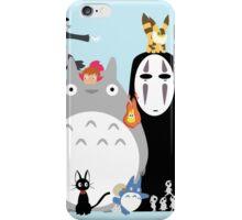 Ghibli movies iPhone Case/Skin