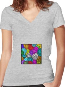 Cookies Women's Fitted V-Neck T-Shirt