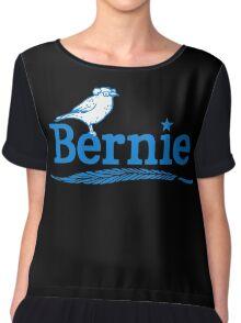 Bernie Bird Logo Chiffon Top