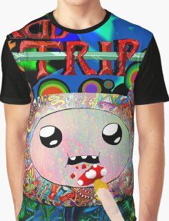 Adventure Time Finn Tripping Graphic T-Shirt