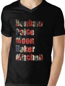 Bonham - Paice - Moon - Baker - Mitchell - British Drumming Legends T-Shirt