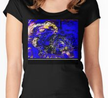 Gustav In The Gulf Of Mexico Women's Fitted Scoop T-Shirt