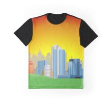Good Morning City Graphic T-Shirt