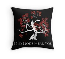 old God hears you Throw Pillow