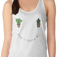 Don't touch me Women's Tank Top