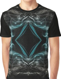 Cool Abstract Ghost From The Past Graphic T-Shirt