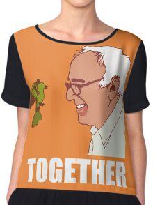 Bernie Sanders Together Chiffon Top