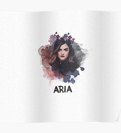 Aria - Pretty Little Liars Poster
