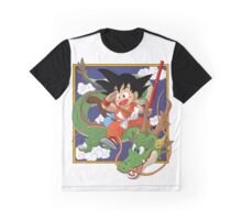 Goku And Shenron Graphic T-Shirt