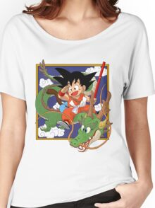 Goku And Shenron Women's Relaxed Fit T-Shirt