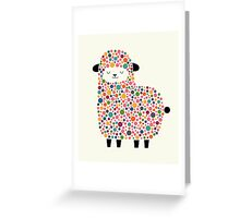Bubble Sheep Greeting Card