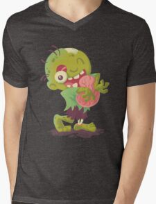 Zombie Hugs Mens V-Neck T-Shirt