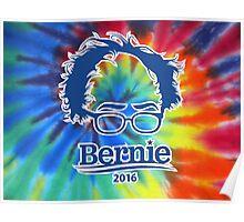 Bernie Sanders Tie-Dye Poster