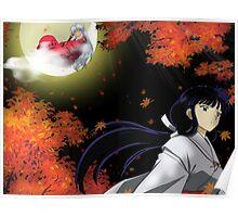 Inuyasha Kikyo Poster