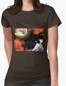 Inuyasha Kikyo Womens Fitted T-Shirt