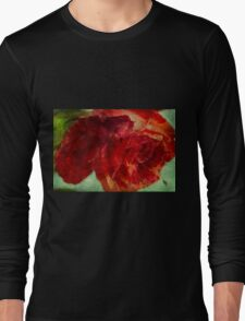 Flaming flower Long Sleeve T-Shirt