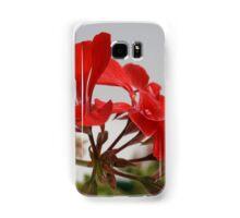 Red Flower Samsung Galaxy Case/Skin