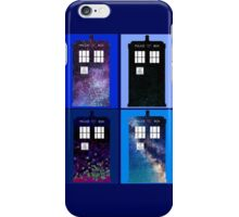 Tardis Funky Four Background Design iPhone Case/Skin