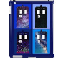 Tardis Funky Four Background Design iPad Case/Skin