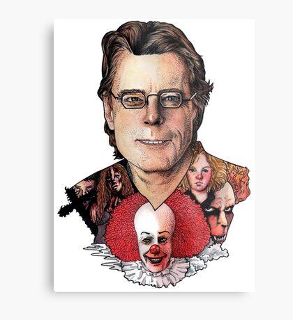 Stephen King Metal Print