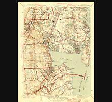 USGS TOPO Map Rhode Island RI East Greenwich 353413 1944 31680 T-Shirt