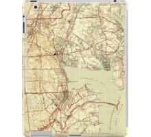 USGS TOPO Map Rhode Island RI East Greenwich 353413 1944 31680 iPad Case/Skin