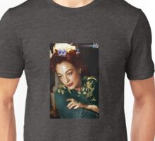 Colorized Joan Crawford 1945 Mildred Pierce Unisex T-Shirt