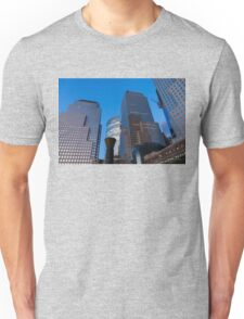 Manhattan Blue Hour - Skyscrapers from the Hudson River Esplanade Unisex T-Shirt