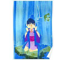 The glamorous life of a spirit medium a la Maya Fey.  Poster