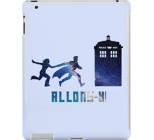 Allons-y Tenth Doctor and Companion iPad Case/Skin