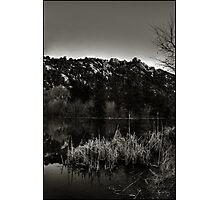 Prescott Lake Sunrise  Monochrome Photographic Print