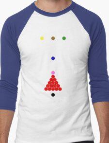Snooker Men's Baseball ¾ T-Shirt