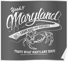 Maryland Wedding Crashers Movie Quote Poster
