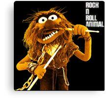 Rock n Roll Animal Canvas Print