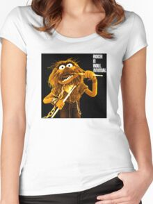 Rock n Roll Animal Women's Fitted Scoop T-Shirt