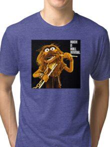 Rock n Roll Animal Tri-blend T-Shirt