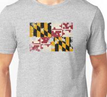 Maryland Splatter Unisex T-Shirt
