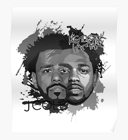 Cole and Kendrick gray Poster