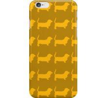 Basset hound iPhone Case/Skin