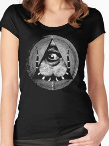 dali's all-dreaming eye Women's Fitted Scoop T-Shirt