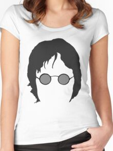John Lennon The beatles Women's Fitted Scoop T-Shirt