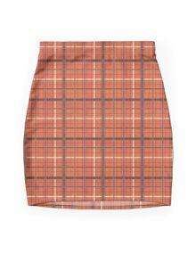 "Tartan - ""Old brown"" Mini Skirt"