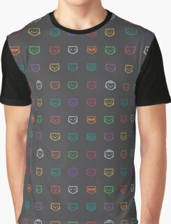 The cat's muzzle Graphic T-Shirt