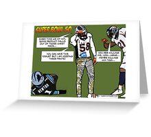 Super Bowl Greeting Card