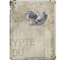 Guardians of the Crypt - Paris - France iPad Case/Skin