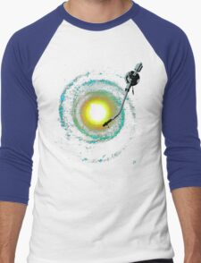 music from the milky way Men's Baseball ¾ T-Shirt