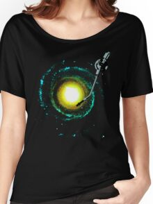 music from the milky way Women's Relaxed Fit T-Shirt