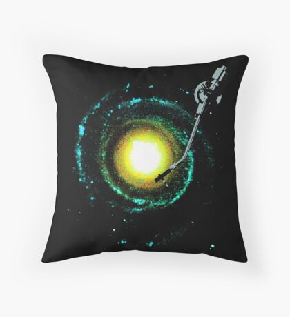 music from the milky way Throw Pillow