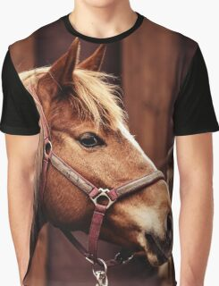 Horse head Graphic T-Shirt